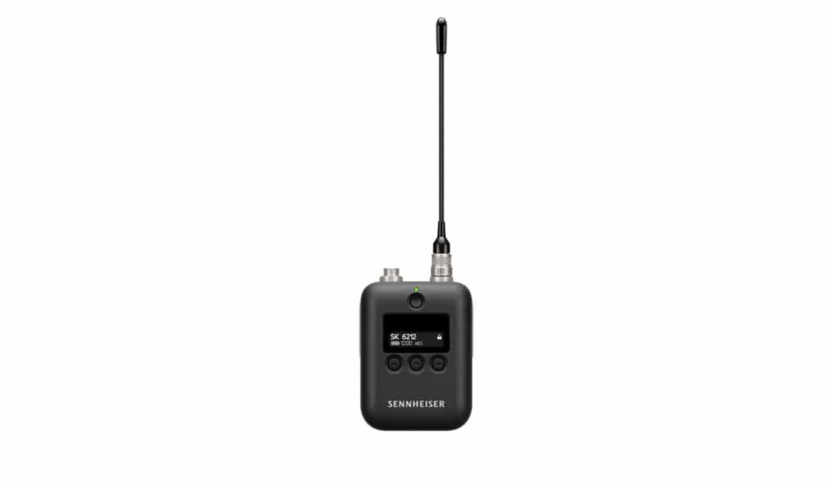 Sennheiser lança transmissor SK 6212 para o sistema Digital 6000