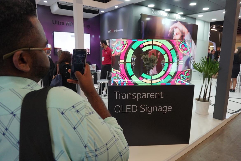 LG marca presença na Church Tech Expo